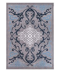 This Blue Papaya Rug by Well Woven is perfect! #zulilyfinds