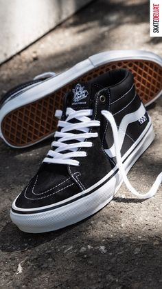 Grosso forever! Check out the new colorway of the Vans Skate Mid in honor of Jeff Grosso