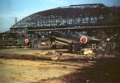A rare colour photograph of a Japanese airfield near Tokyo after VJ Day shows a captured P-40 Warhawk along with other Japanese types. The USAAF star roundel can still be seen beneath the Hinomaru red roundel of the Japanese Imperial Army. Photo: James G. Weir