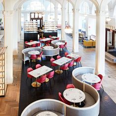 Maple & Pine restaurant in the Quirk Hotel | wanderlust design via coco kelley