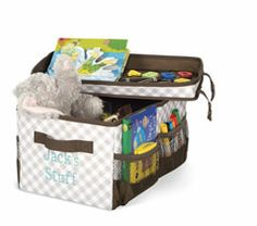 Flip-Top Organizing Bin! Use the lid to keep all your stuff safe inside the bin--- or turn upside down to use as a caddy / tray for snacks, crayons, etc!!! www.mythirtyone.com/lorivore