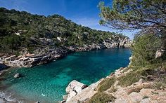 Cala Deià, near Sóller, Mallorca, Spain Beautiful Places To Visit, Beautiful Beaches, Amazing Places, Best Beaches In Majorca, Deia Mallorca, Places To Travel, Places To Go, Greek Islands Vacation, Costa