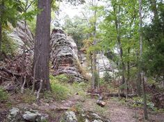 high knob campground and trials in Shawnee National Forest