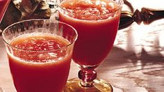 cranberry orange slush cocktail