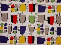 Jacqueline Groag was a Czech-born textile designer who trained with Josef Hoffmann in the 1920's in Vienna.