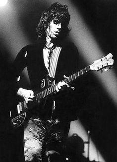 Keith Richards - 1973 - Portrait Poster
