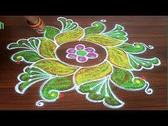 Indian Rangoli Designs, Small Rangoli Design, Rangoli Designs With Dots, Rangoli Designs Images, Mehndi Design Images, Rangoli With Dots, Beautiful Rangoli Designs, Mehndi Designs, Simple Rangoli Kolam