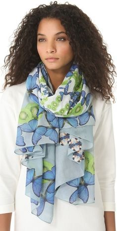(Limited Supply) Click Image Above: Yarnz Butterfly Kiwi Scarf