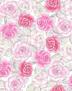 Designed by Cressida Carr Garden Painting, Paintings, Gallery, Rose, Flowers, Plants, Design, Art, Art Background