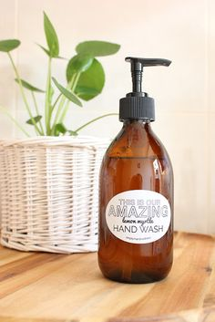 D.I.Y - Amazing Lemon Myrtle Handwash