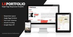 Buy LXPortfolio - Single Page Responsive Portfolio by BASSTHEMES_DISABLED on ThemeForest. LXPortfolio is a Single Page Responsive Template to Introduce Yourself and your portfolio. This template is easy to m. Template Site, Templates, V Card, Mini Mo, Form Builder, Responsive Layout, Modern Typography, Magazine Template, Animal Logo
