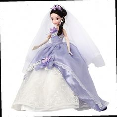 47.50$  Buy now - http://aliisq.worldwells.pw/go.php?t=32354746753 - 29cm Romantic Purple Bridal Doll Movable Joints KURHN Doll  China Fashion Wedding Dress Doll Birthday Girl Gift Kit Toys