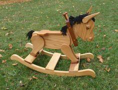Decoración de madera caballo montar a caballo por LoVeElegance