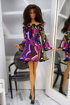 HABILISDOLLS summer fashion for Fashion Royalty FR2, Barbie and similar dolls