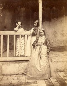 Jewish lady Damas Syria - Ludovico Wolfgang Hart, 1865