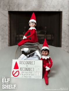 Disconnect To Reconnect! | Elf on the Shelf Ideas