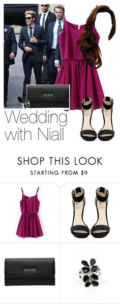 """""""Wedding with Niall"""" by style-with-one-direction ❤ liked on Polyvore featuring Burberry, Rihanna For River Island, GUESS, OneDirection, 1d, NiallHoran and lucluc"""