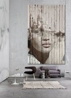 Recreation : Mural by Antonio Mora. I didn't know on to which board I should pin this. But it was too interesting to pass by.