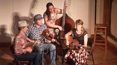 """Foghorn Stringband at the Laurel Theater, """"He'll Hold to my Hand"""""""