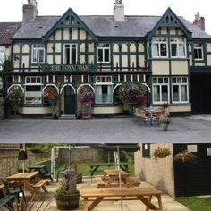 North Yorkshire village pub, enclosed garden.