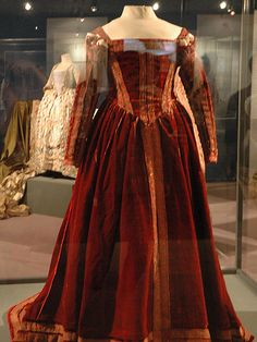 Dress that belonged to 16th Century icon Eleanor of Toledo from the Medici family.