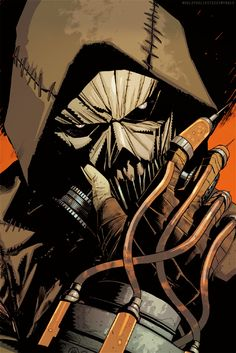 Scarecrow in Arkham Knight: Genesis #02