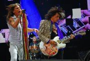 Steven Tyler and Joe Perry (Photo by Peter S. Sakas)