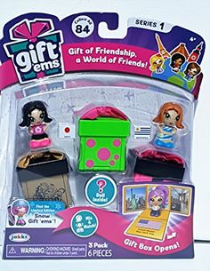 Gift /'Ems Series 2 Pet Friends Lyon Mix And Match 2 Pack