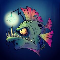 I have a thing for anglerfish.