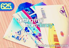 Oh, Disney mail, you complete me!