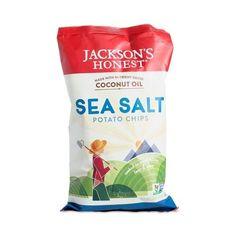 Jackson's Honest Potato Chips With Coconut Oil Sea Salt (12x5 OZ)