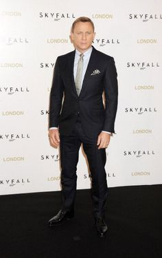 Daniel Craig attends photocall for the new James Bond film 'Skyfall' in London, England.           THAT is how it's done, bitches.        [Photo Credit: Getty]      Tags: Daniel CraigMovie PremiereRed CarpetWERQ    Follow us:              You might also like:  Daniel Craig's Skyfall Poster  Darlings, we think you're all in need of a delicious man in a tux right about now, so let's all gaze lovingly at Daniel ...   Salma Hayek in Roland Mouret  Oh, Miss Salma. This couldabin a WERQ if you'd…