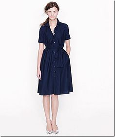 Modern Shirtwaist Dress | beginner's guide to buying and wearing vintage appropriate clothes