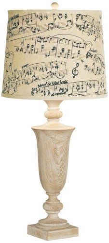 Beautiful Music Note Lamps | Table Lamps, Night Lights and More!