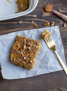 Pumpkin Apple Breakfast Bake (Paleo, Whole30) - Wholesomelicious