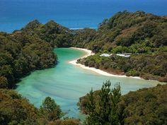 Parque Nacional Abel Tasman, en Nueva Zelanda  #nuevazelanda #newzealand