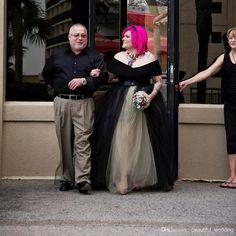 Wholesale A-Line Wedding Dresses - Buy 2015 Spring Black Elegant Wedding Dress Bridal Size Custom Made Party Dress Plus Size V Neck Celebrity Dress Fares Net Evening Dresses High, $151.84   DHgate