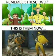 Feel old yet?! #overwatch #meme #dva #tracer #xbox #playstation #gaming