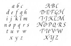 Letter Word Out Of V Italic
