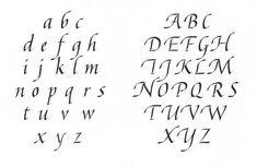 Afbeeldingsresultaat voor teksten in humanistisch cursief