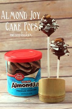 Pint Sized Baker: Almond Joy Cake Pops