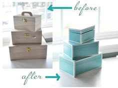 Tiffany Style Boxes