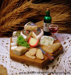 The Mini Food Blog: Wine & Cheese ~ Paloma Lopez