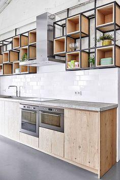 70 Gorgeous White Kitchen Cabinets Decor Ideas - Page 3 of 70 Kitchen Pantry Design, Kitchen Pantry Cabinets, Small Kitchen Storage, Kitchen Cabinet Remodel, Small Space Kitchen, Modern Kitchen Design, Interior Design Kitchen, Kitchen Decor, Kitchen Ideas