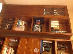 Foto de Librería en madera de cerezo