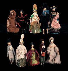 art of dolls merrill wooden - Google Search