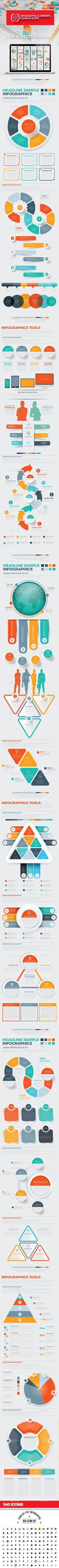 Big Infographics Design. Download: https://graphicriver.net/item/big-infographics-design/18704641?ref=thanhdesign