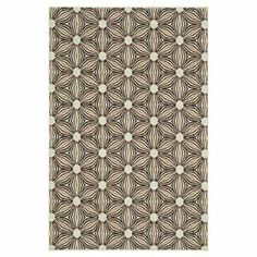 Indoor/outdoor rug with a floral-inspired motif. Made in Egypt.     Product: RugConstruction Material: PolypropyleneColor: Ivory and sunsetFeatures: Suitable for indoor and outdoor use Note: Please be aware that actual colors may vary from those shown on your screen. Accent rugs may also not show the entire pattern that the corresponding area rugs have.Cleaning and Care: Clean spills immediately by blotting with a clean sponge or cloth. Rinse with water from garden hose.  Lift off ground to…