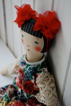 Petranille Cloth Doll Sophie Tilley Designs by SophieTilleyDesigns