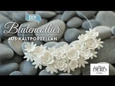 How to: edle Statementkette aus Kaltporzellan selber machen DIY | Deko Kitchen - YouTube